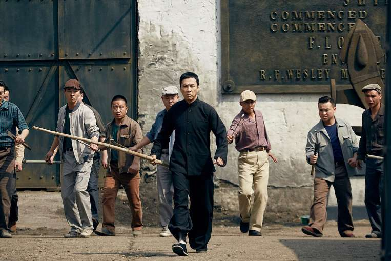 Cinema still: Ip Man 3. PHOTO: SHAW ORGANISATION & SCORPIO EAST PICTURES